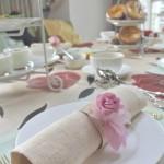 「おもてなしハンドメイド」ワーク付お茶会・・・<デコパージュ石けん&お皿>