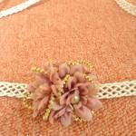 アーティフィシャルフラワーの小花でつくる帯留めも素敵です